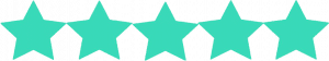 Blog post writers with 5-star ratings